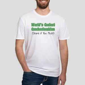World's Coolest Czechoslovakian Fitted T-Shirt