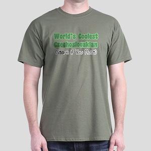 World's Coolest Czechoslovakian Dark T-Shirt