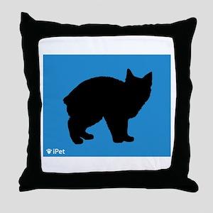 Manx iPet Throw Pillow