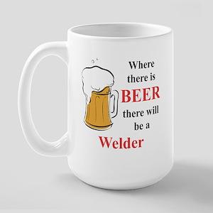 Welder Large Mug