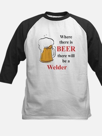 Welder Kids Baseball Jersey