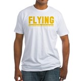 Aviation funny Fitted Light T-Shirts