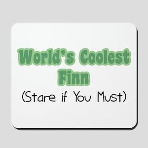 World's Coolest Finn Mousepad