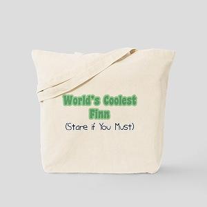 World's Coolest Finn Tote Bag