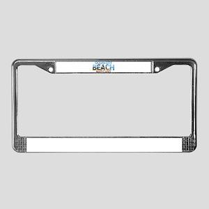 Summer ocean city- maryland License Plate Frame