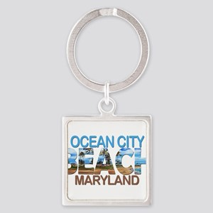 Summer ocean city- maryland Keychains
