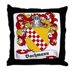 Bachmann Family Crest Throw Pillow