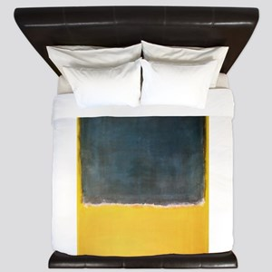 ROTHKO YELLOW BLUE_GREEN King Duvet