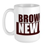 Brown is the new White Large Mug