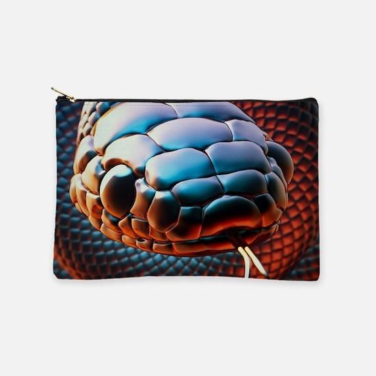 Coiled Ready Snake Makeup Bag