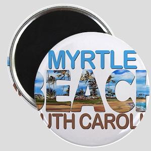 Summer myrtle beach- south carolina Magnets