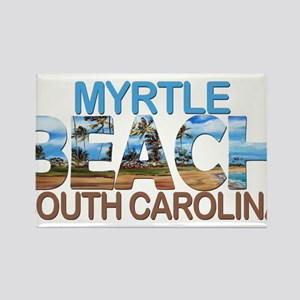 Summer myrtle beach- south carolina Magnets