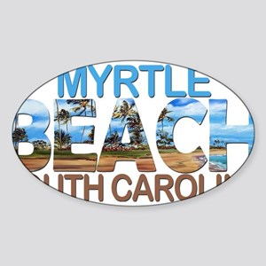 Summer myrtle beach- south carolina Sticker