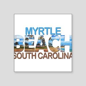 Summer myrtle beach- south carolina Sticker