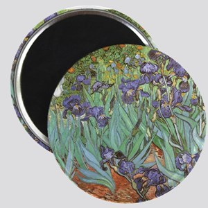 Van Gogh Irises Magnets