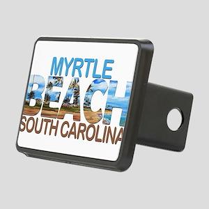 Summer myrtle beach- south Rectangular Hitch Cover