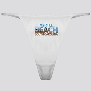 Summer myrtle beach- south carolina Classic Thong