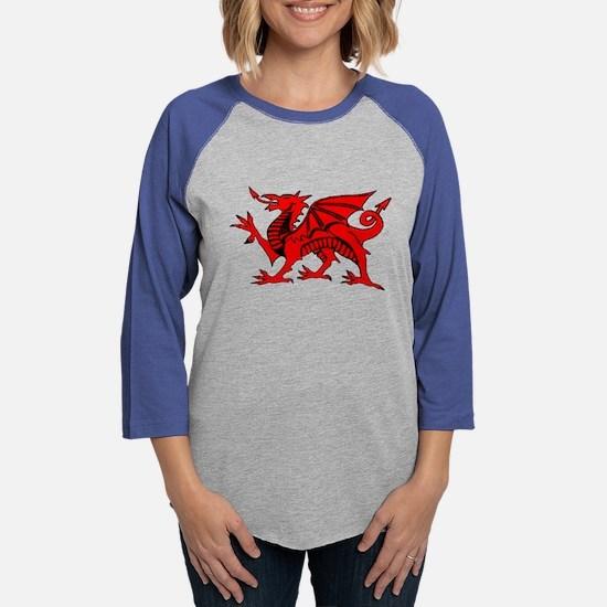 Welsh Red Dragon Long Sleeve T-Shirt