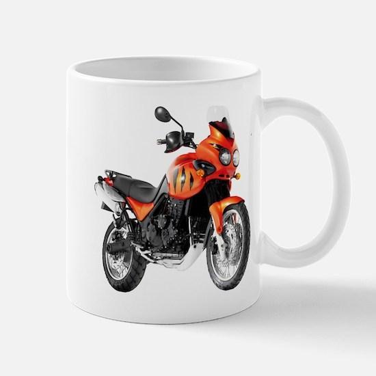 Triumph Tiger Motorbike Orange Mug
