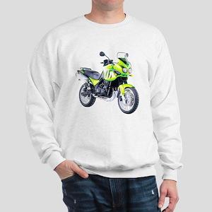 Triumph Tiger Motorbike Light Green Sweatshirt