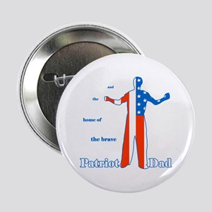 Patriot Dad Father's Day Button