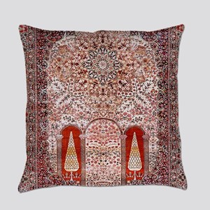 Tree of Life Persian Carpet Everyday Pillow