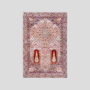 Tree Of Life Persian Carpet 4' X 6' Rug