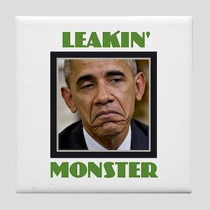 Leakin' Monster Tile Coaster
