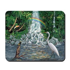 Rainforest Waterfall Mousepad