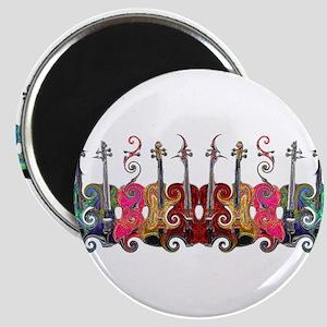 ViolinSwirls Magnet