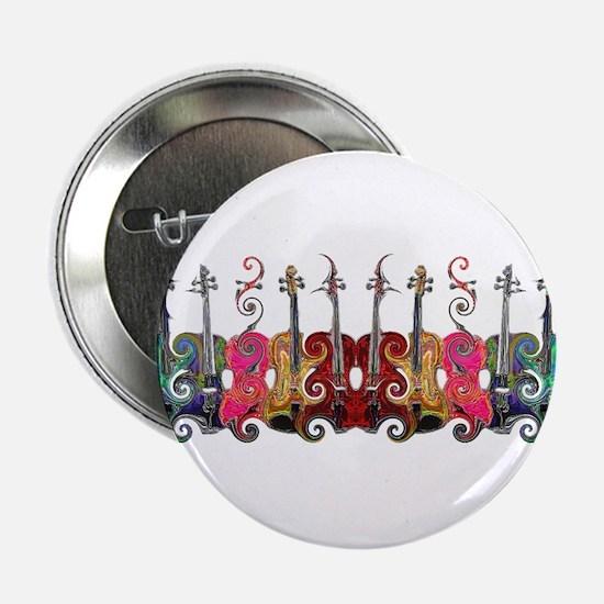 """ViolinSwirls 2.25"""" Button"""