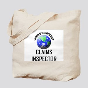 World's Coolest CLAIMS INSPECTOR Tote Bag