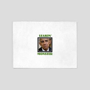 Leakin' Monster 5'x7'Area Rug