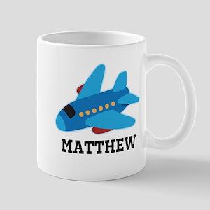 Personalized Airplane Jet Plane Mugs