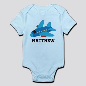 Personalized Airplane Jet Plane Body Suit