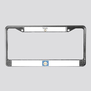 JUST TESTING YOU License Plate Frame