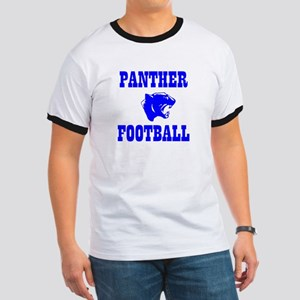 Panther Football Ringer T