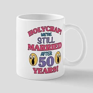 Funny 50th Anniversary Mugs