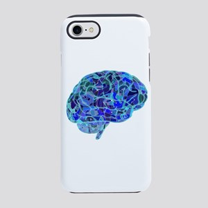 Digital Anatomical Brain iPhone 8/7 Tough Case