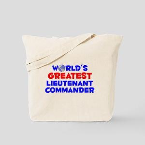 World's Greatest Lieut.. (A) Tote Bag