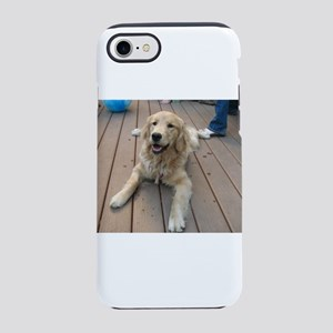 golden retriever puppy Nala iPhone 8/7 Tough Case