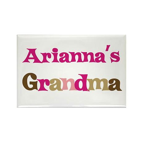 Arianna's Grandma Rectangle Magnet