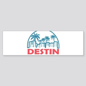 Summer destin- florida Bumper Sticker