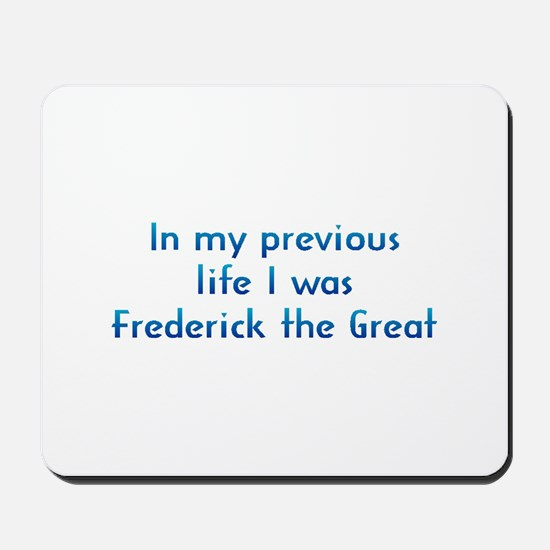 PL Frederick the Great Mousepad