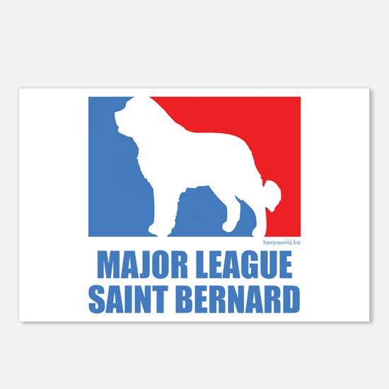 ML St. Bernard Postcards (Package of 8)