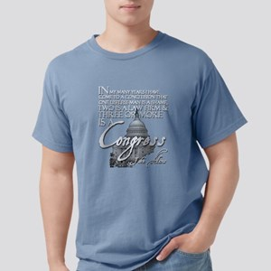 John Adams on Congress Women's Dark T-Shirt