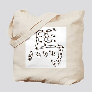 Spotted POA Horse Chinese Tote Bag