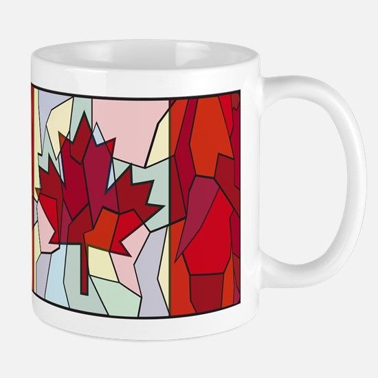 Canadian Stained Glass Window Mugs