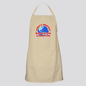 World's Greatest Badmi.. (F) BBQ Apron
