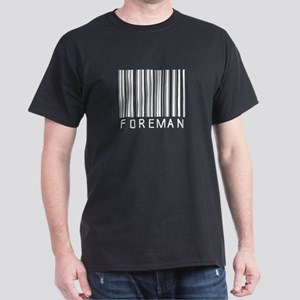 Foreman Barcode Dark T-Shirt